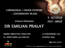 13.10.2017 CEREMONIAŁ I DWÓR PAPIESKI