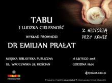 16.02.2018 TABU I LUDZKA CIELESNOŚĆ